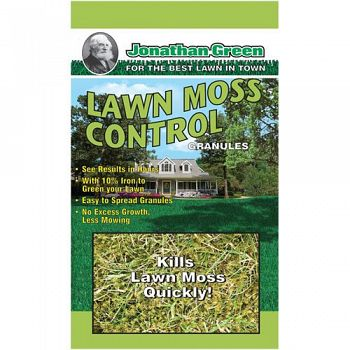 Lawn Moss Control - 5000 sq ft.