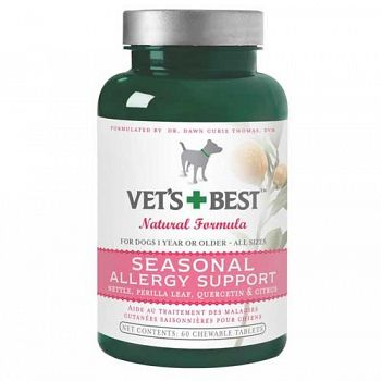 Seasonal Allergy Relief for Dogs - 60 tablets