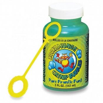 Kookamunga for Cats Catnip Bubbles - 4 oz.