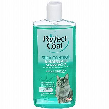 Shed Control & Hairball Shampoo for Cats 10 oz.