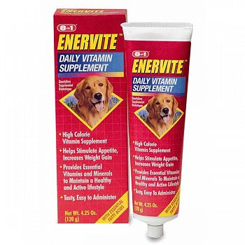 8-in-1 Enervite Adult Dog Daily Supplement - 4.5 oz.