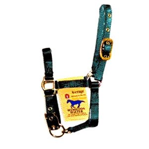 3/4 in. Adjustable Halter Miniature - Hunter