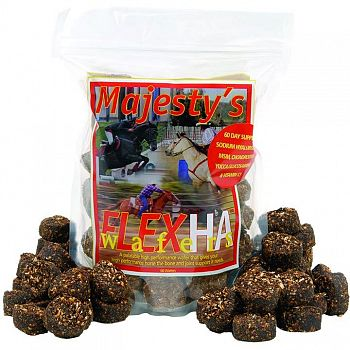 Majestys Flex HA Wafers for Horses - 60 day