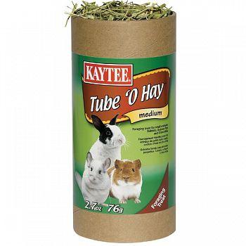 Tube O Hay for Small Pets - 2.7 oz.