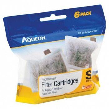 Aqueon Filter Cartridge - Small / 6 pk.