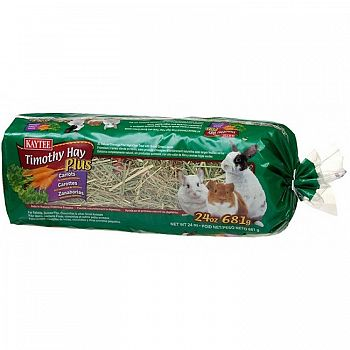 Timothy Hay Plus Carrots for Small Pets- 48 oz.