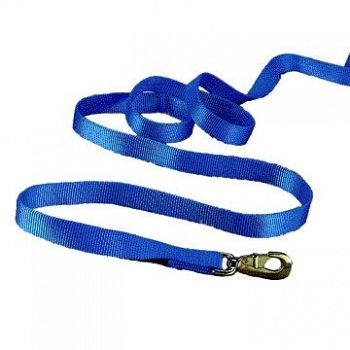 Nylon Lead with Snap - Blue / 7 ft.