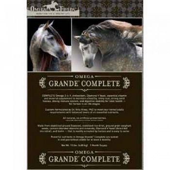 Omega Grande Complete Horse Supplement - 15 lb.