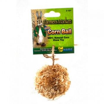 Corn Ball for Small Pets - Small