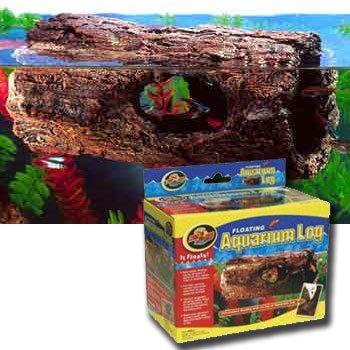 Floating Aquarium Log