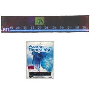 Horizontal Digital Thermometer Large