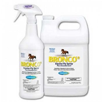 Bronco E Equine Fly Spray Plus Citronella Scent