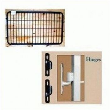 Gate Hinge Kit - Chrome