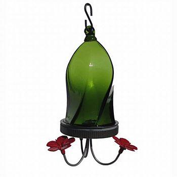 Twisted Jewel Hummingbird Feeder - Green / 16 oz.