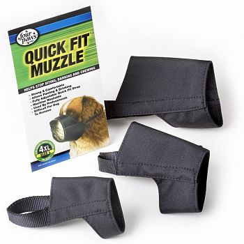 Quick-Fit Dog Muzzle