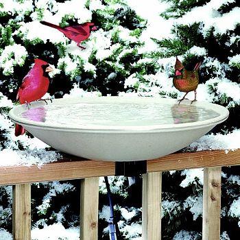 Heated Bird Bath - Easy Tilt to Clean