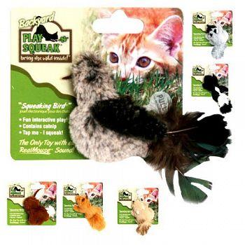Play-n-Squeak Backyard Cat Toy
