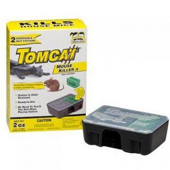 Tomcat Disposable Mouse Killer - 2 pk.