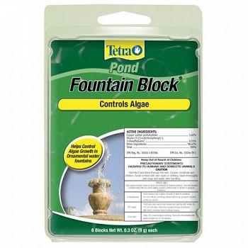 Anti-algae Fountain Block - 6 pack