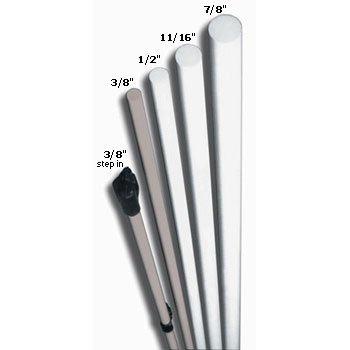Sunguard Fiberglass Rod Post 4.5 ft x 3/8 in. (Case of 20)