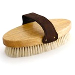 Natural Boar English Equine Body Brush 7.5 in.