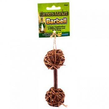 Willow Barbell Chew for Small Pets - Large