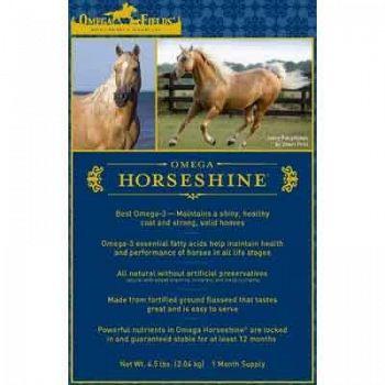 Omega Horseshine Omega 3 Horse Supplement