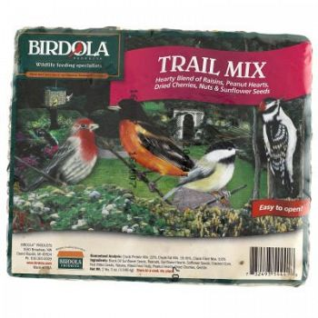Trail Mix Wild Bird Seed Cake - 2.5 lbs (Case of 8)