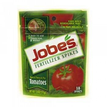 Jobes Tomato Fertilizer Spikes 18 pk each (Case of 24)
