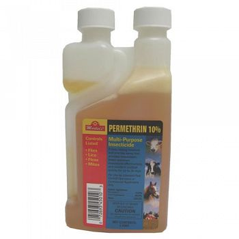 Permethrin 10% Premises Dog and Livestock Insecticide 1 pint concentrate