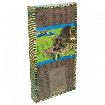 Sit-n-Scratch Double Scratcher for Cats