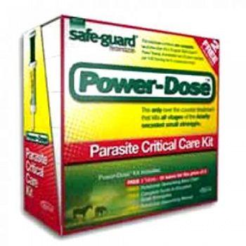 Safe-Guard Power-Dose Parasite Critical Care Kit  - 57 GRAM