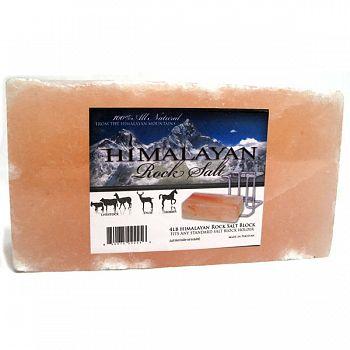 Himalayan Salt Brick for Horses/Large Animals - 4 lbs