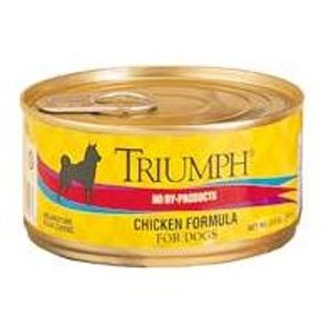 Triumph Can Dog Food Chicken 5.5 oz. (Case of 24)