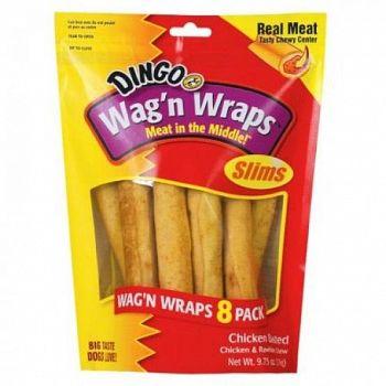 Wag N Wrap 8 pk Dog Treat - 9.75 oz.
