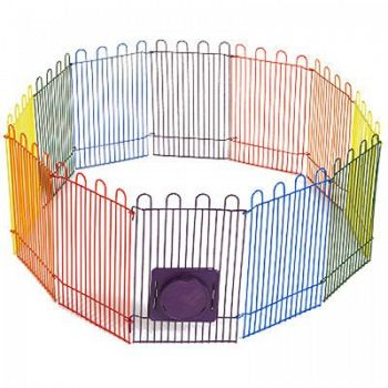 Crittertrail Playpen with Mat for Small Animals