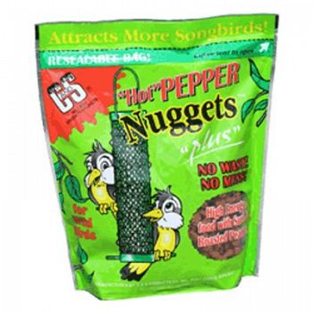 Hot Pepper Nuggets for Wild Birds - 27 oz.