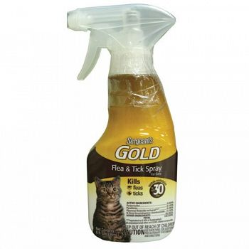 Sergeant Gold Flea & Tick Cat Spray 8 oz