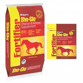 Sho Glo Horse Feed Fortification Supplement