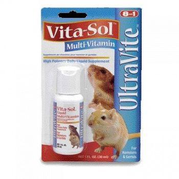 Hamster and Gerbil Vita-sol 1 oz.