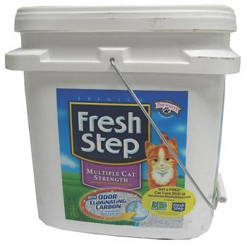 Fresh Step Multicat Litter - 25 lbs