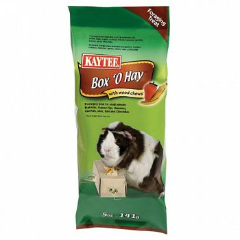 Box O Hay With Wood Chews - Guinea Pig 0.5 oz.