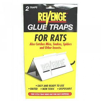 Revenge Glue Board Rat - 2 pack