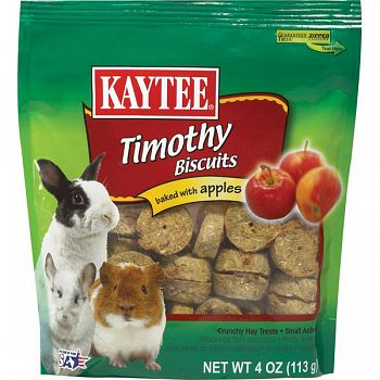 Timothy Hay Baked Small Pet Treat - Apple / 4 oz.