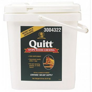 Quitt - Supplement to Eliminate Wood Chewing