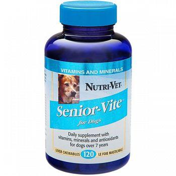 Senior Vite Vitamin Supplement for Dogs - 120 tablets