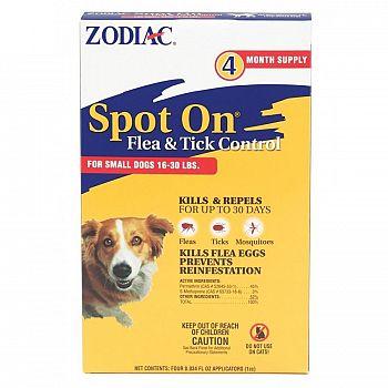 Zodiac Spot On Flea & Tick Control for Dogs