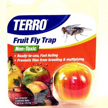 Terro Fruit Fly Traps - .50 FL oz.