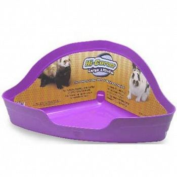 Large Hi-Corner Litter Pan for Small Pets