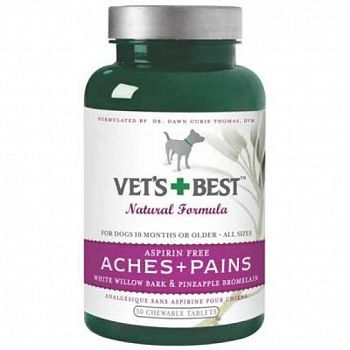 Vets Best Aches Plus Pains - Dog Pain Reliever - 50 ct.